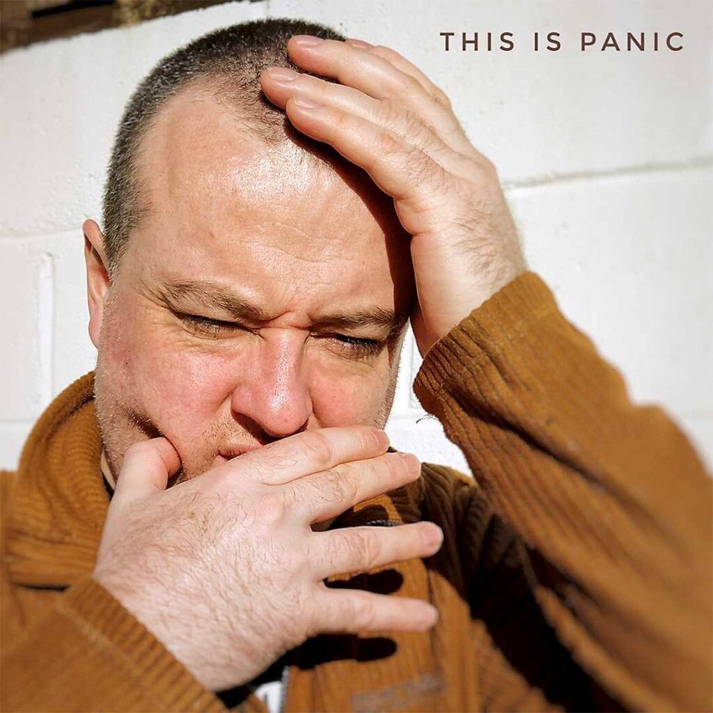 Adrian Reynolds look of panic!